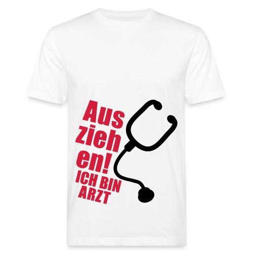 Ich bin Arzt - Männer Bio-T-Shirt