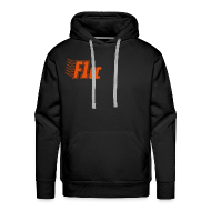 Hoodies & Sweatshirts ~ Men's Premium Hoodie ~ Hoodie - Orange Logo
