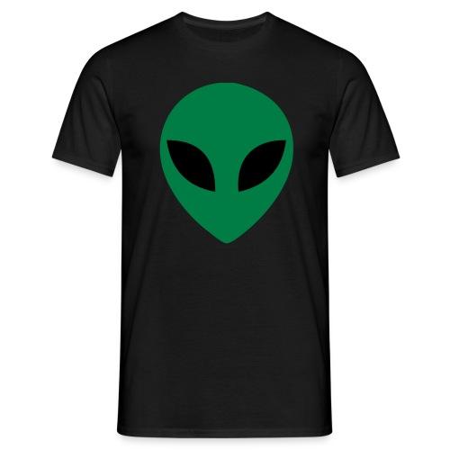 male t-shirt alien head - Men's T-Shirt