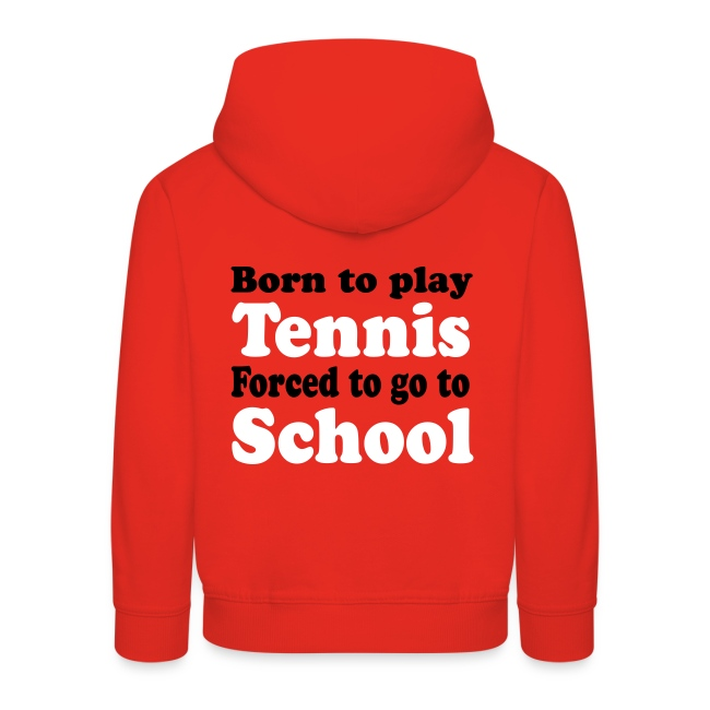 Born to play Tennis, Forced to go to School