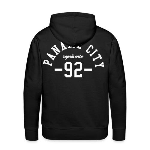 Paname City 92 - Sweat-shirt à capuche Premium pour hommes