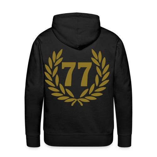 77 - Sweat-shirt à capuche Premium pour hommes