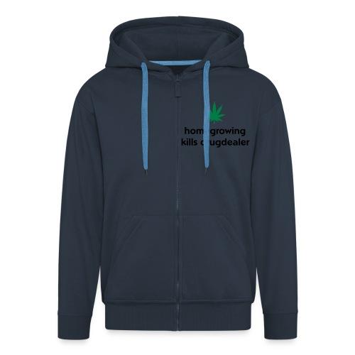 Platoral weed hoodie - Men's Premium Hooded Jacket