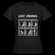 Camisetas ~ Camiseta mujer ~ Lost - endings (white)