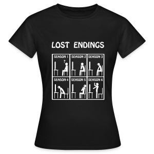 Lost - endings (white) - Camiseta mujer