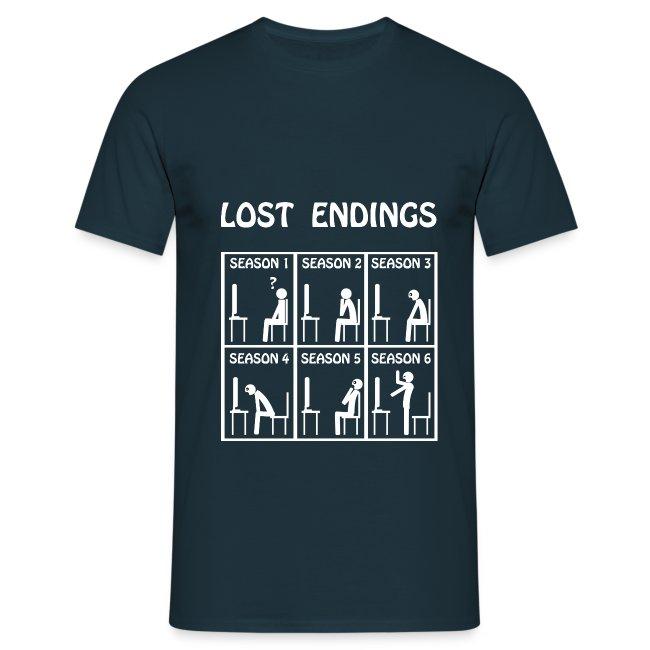 Lost - endings (white)