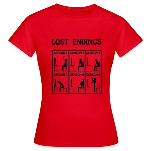 Lost - endings - Camiseta mujer
