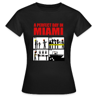 Camisetas ~ Camiseta mujer ~ Dexter - a perfect day in Miami