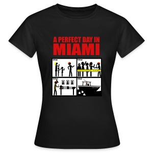 Dexter - a perfect day in Miami - Camiseta mujer