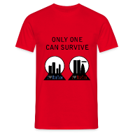 Camisetas ~ Camiseta hombre ~ Fringe - only one can survive