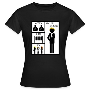 How I Met Your Mother - money - suits - sex - my life rocks! - Camiseta mujer