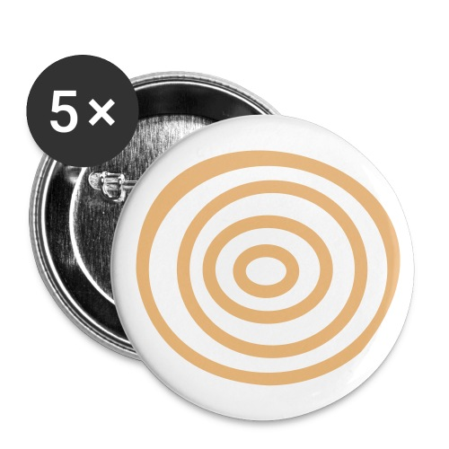 Europe - Buttons small 1''/25 mm (5-pack)