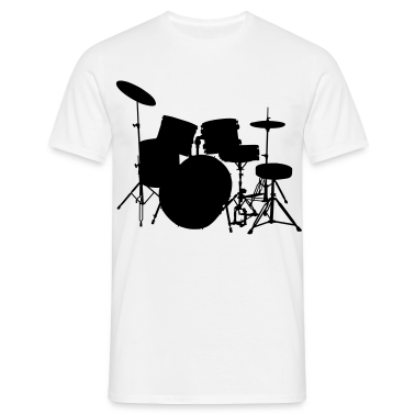 music drumset drum T-Shirts