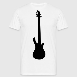 music base guitar Tee shirts - T-shirt Homme
