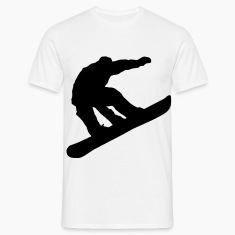 snowboard winter sport T-Shirts