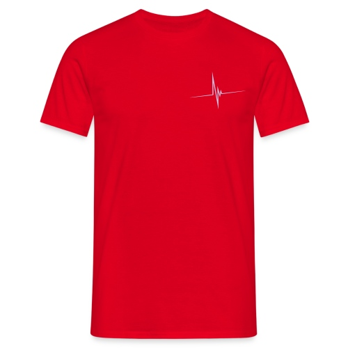 ffmeow basic man red - Men's T-Shirt