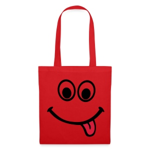 Red smile - Tote Bag