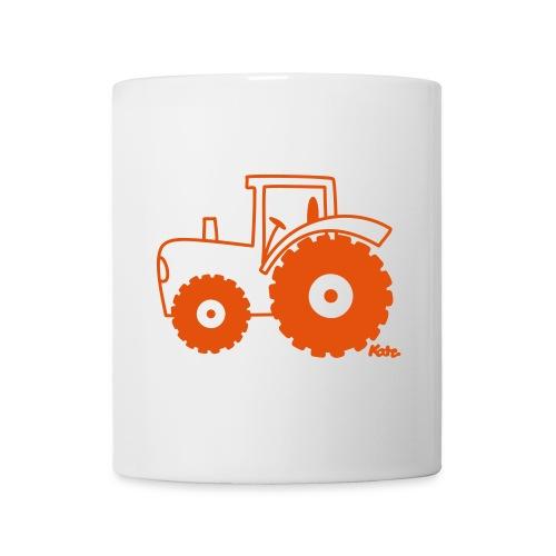 Mug tracteur - Mug blanc