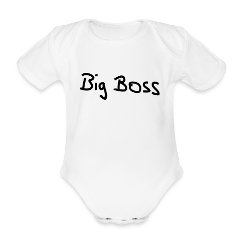Body - Big Boss - Baby Bio-Kurzarm-Body