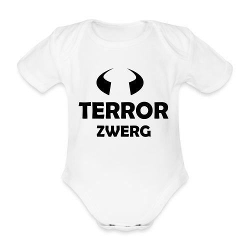 Body - Terrorzwerg - Baby Bio-Kurzarm-Body
