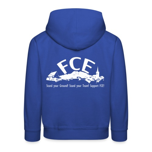 FCE Stand your Ground Kinder Kapuzenpulli - Kinder Premium Hoodie