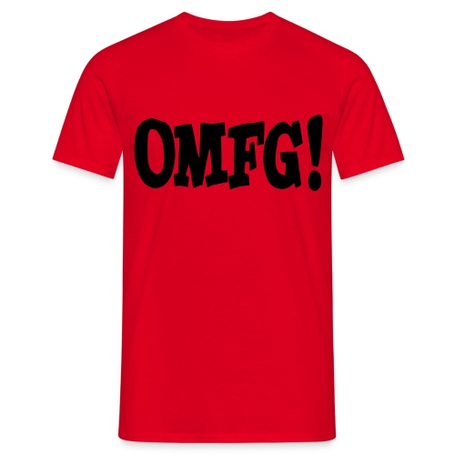 OMFG! - Männer T-Shirt
