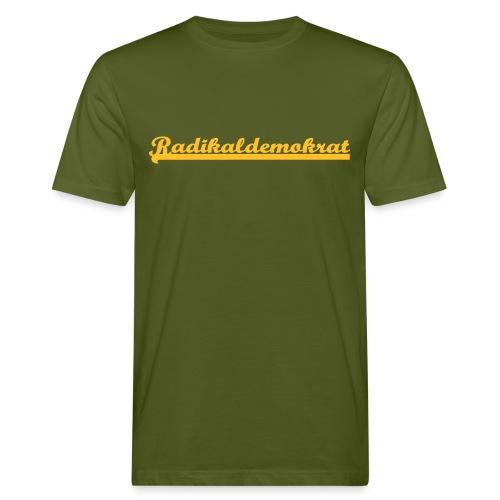 Radikaldemokrat Flexdruck Bio - Männer Bio-T-Shirt