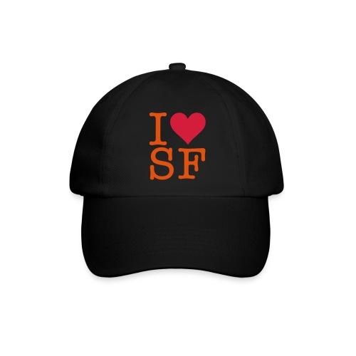 I love San Francisco - Baseballkappe