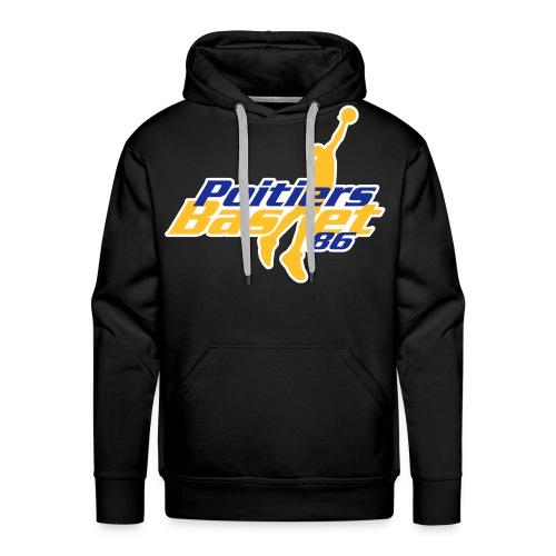 POITIERS BASKET 86 SWEAT SHIRT - Sweat-shirt à capuche Premium pour hommes