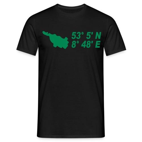 Bremen Koodinaten T-Shirt - Männer T-Shirt