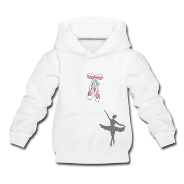 Ballet shoes with satin ribbon Kids' Tops