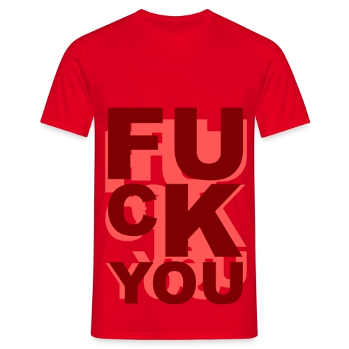 T shirt homme fuck you - T-shirt Homme