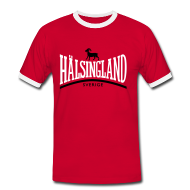 T-shirts ~ Kontrast-T-shirt herr ~ Hälsingland