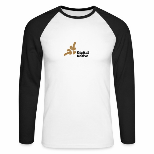 Digital Native - Generation Internet - Männer Baseballshirt langarm