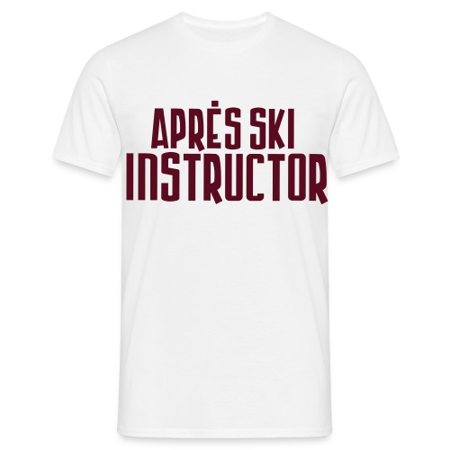 apres ski - Men's T-Shirt