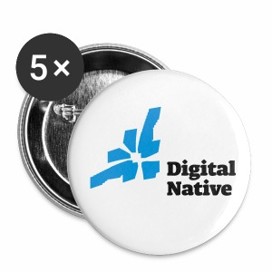 Digital Native - Generation Internet - Buttons klein 25 mm