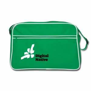 Digital Native - Generation Internet - Retro Tasche