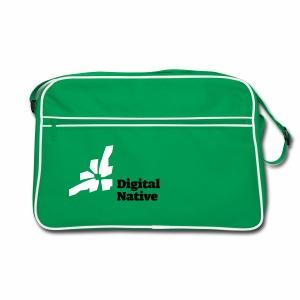Digital Native - Generation Internet - Retro Tasche