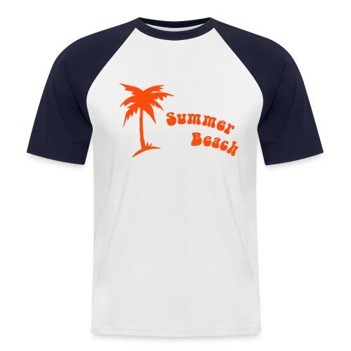 Beach 2 - T-shirt baseball manches courtes Homme