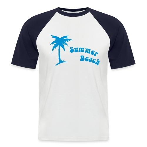 Beach 1 - T-shirt baseball manches courtes Homme
