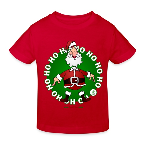 Tee-shirt Enfant Père Noël ho-ho - T-shirt bio Enfant