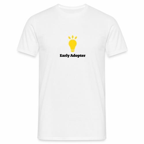 Early Adopter Leuchte - Männer T-Shirt