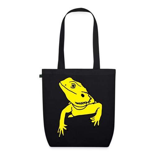 Bearded Dragon - Tote Bag - EarthPositive Tote Bag