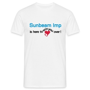 Sunbeam Imp - here to win you over - T-skjorte for menn