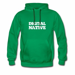 Digital Native - Generation Internet - Männer Premium Hoodie