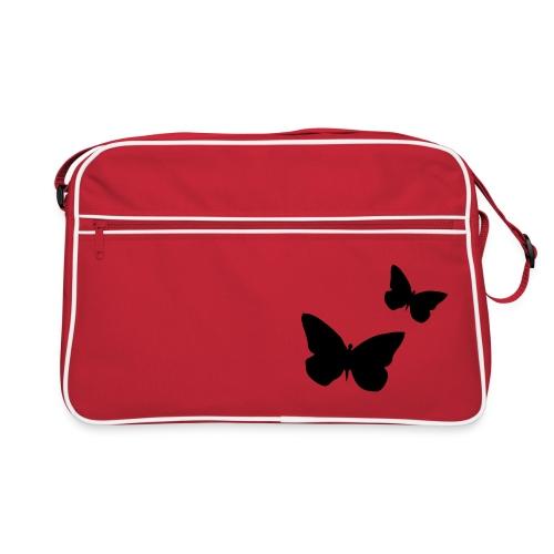 Tasche Schmetterling - Retro Tasche