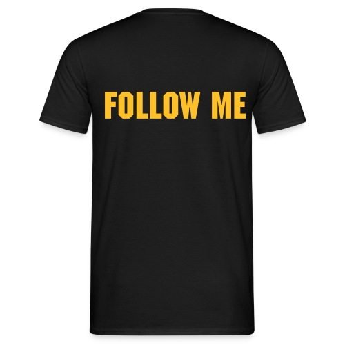 Follow Me - Männer T-Shirt