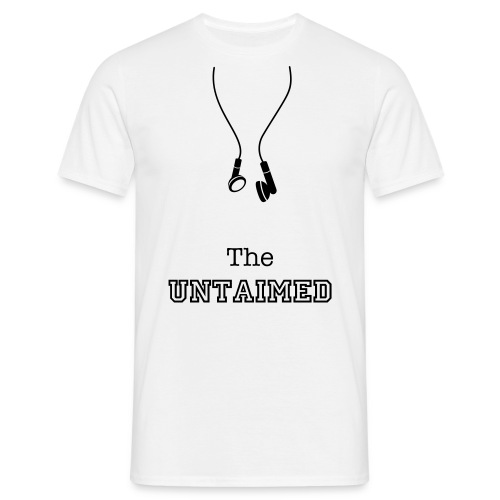 The Untaimed Headphones - Men's T-Shirt