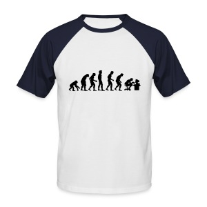 Evolution (Baseball Shirt) - Men's Baseball T-Shirt