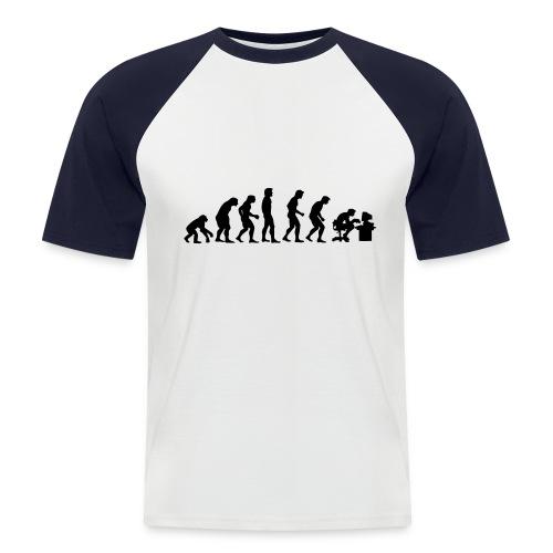 Evolution (Baseball Shirt) - Men's Baseball T-Shirt